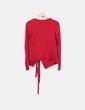 Cardigans tricot rouge Naf Naf