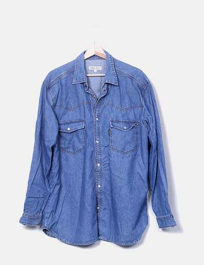 Camisa denim NoName