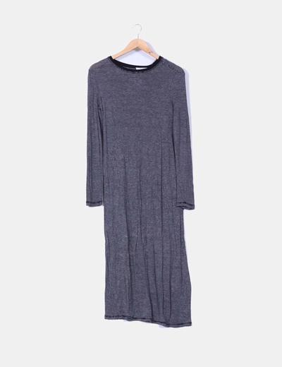 Vestido maxi de rayas  Zara