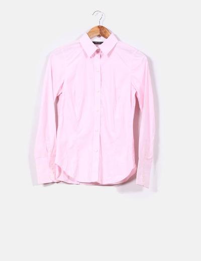 5a585cea09f22 Zara Camisa rosa claro (descuento 76%) - Micolet