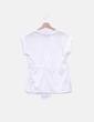 Camiseta blanca botones Tommy Hilfiger