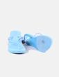 Chanclas azules con tacón NoName
