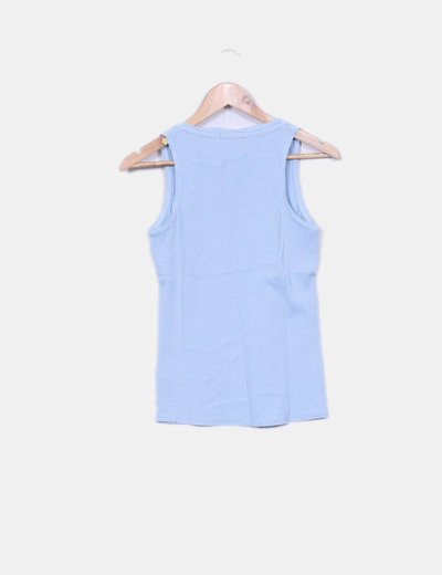 Camiseta azul clara canale