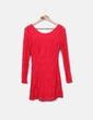 Laço vermelho vestido NoName