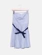 Vestido de rayas con lazo Suiteblanco