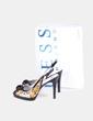 Zapato estampado con flor Guess
