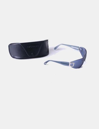 Gafas de solo con cristales azules