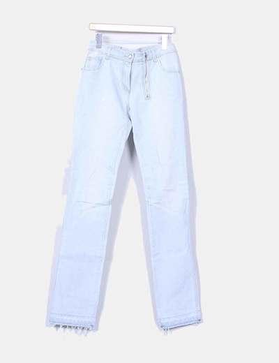 Jeans denim azul claro Dior