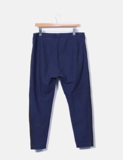 Pantalon baggy azul marino