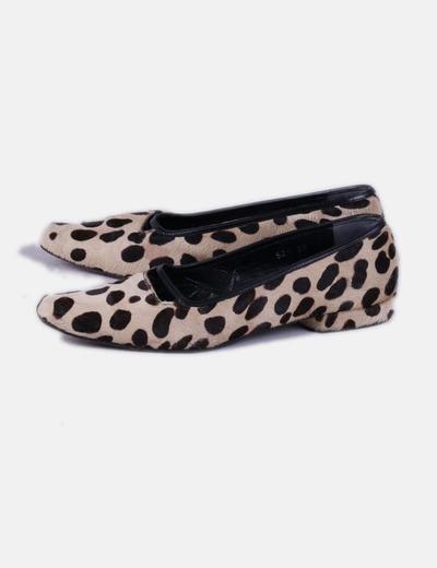 9ff8078bf8379 Acosta Chaussure texture pointe de la imprimé animal (réduction 78 ...