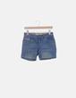 Short denim efecto desgastado MAS fashion