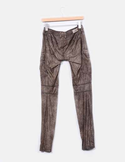 Pantalon de polipiel vintage