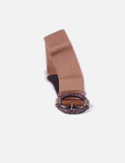 NoName Cinturón marrón ancho (descuento 80%) - Micolet 447f76e406c3
