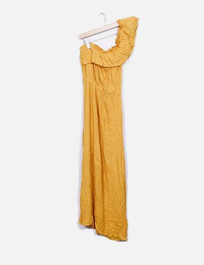 Maxi vestido amarillo Atmosphere