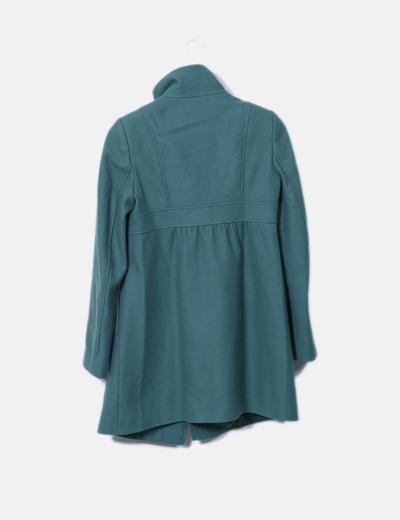 Abrigo de pano verde