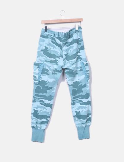 Pantalon deportivo camuflaje