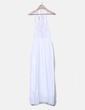 Maxi vestido blanco con bordados Suiteblanco