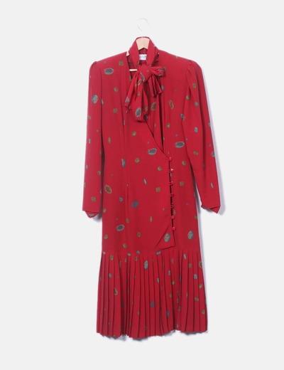 Vestido de gasa estampado CERDAN DIFFUSION