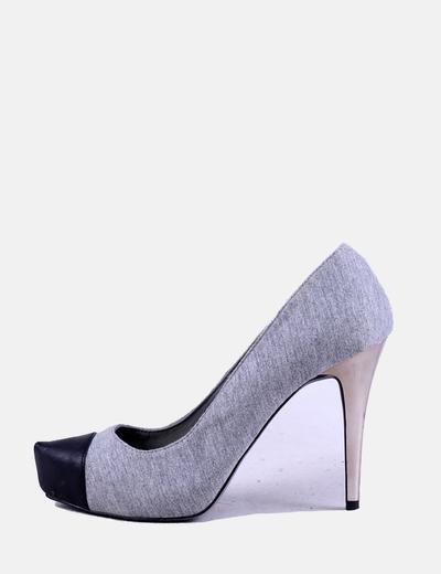 Zapato gris combinado