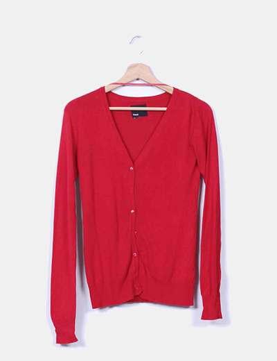 Chaqueta tricot rojo Suiteblanco