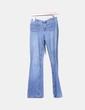 Jeans acampanado detalle bolsillos Mango