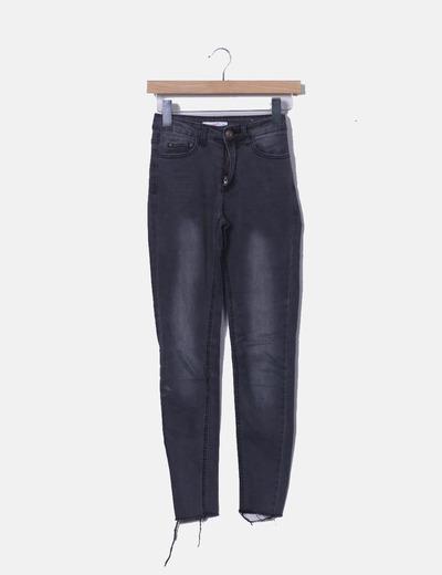 Jeans gris slim Supré