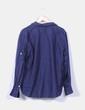 Blusa azul marina abotonada Ralph Lauren