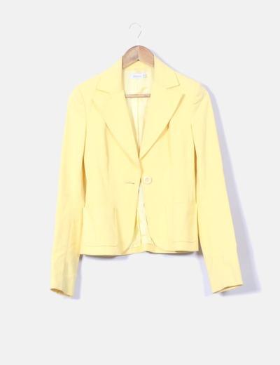 Blazer amarilla Suiteblanco