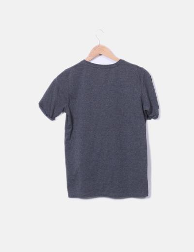 Camiseta gris print california