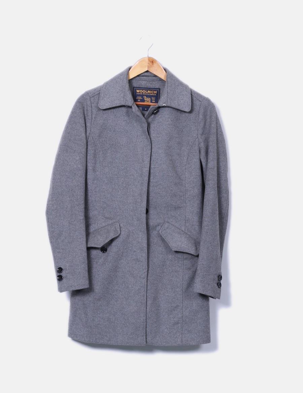 995e8d844c 3 lana 4 Abrigos baratos online Woolrich Mujer de Abrigo y Chaquetas gris  4xwdEP0q5 ...