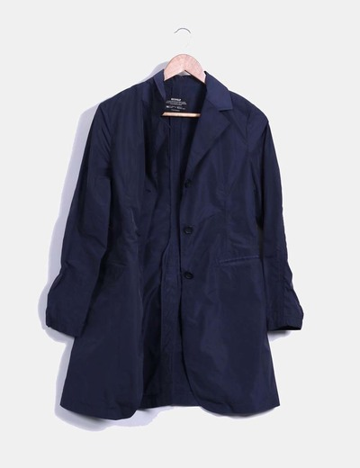 Chaqueta impermeable navy