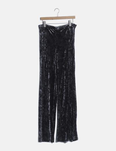 Pantalón terciopelo gris