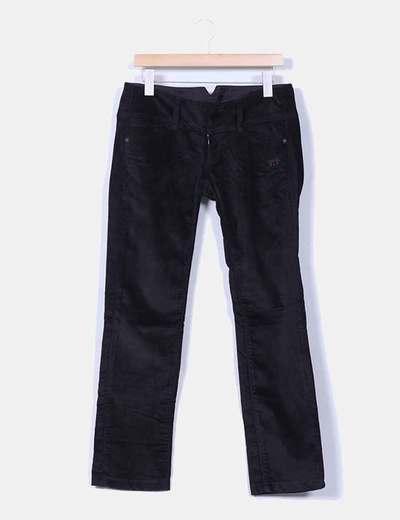 Pantalón negro micropana Freeman T Porter