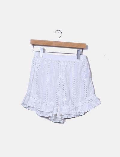 Short blanc Oysho