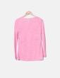 Camiseta rosa de punto Stradivarius