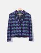 Conjunto de chaqueta y falda tricot combinado Roberto Verino
