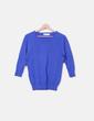 Jersey de punto azul Zara