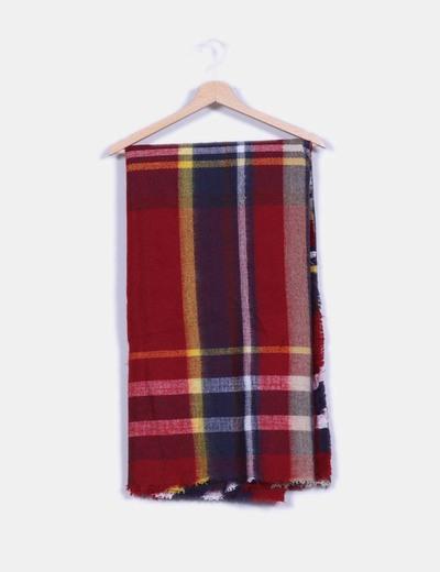Maxi bufanda de cuadros NoName