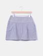 Mini falda de rayas H&M