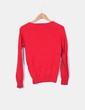Chaqueta tricot roja Zara