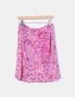 Falda rosa estampado cachemira Baume