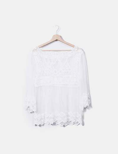 Blouse transparente Lefties