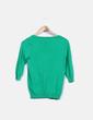 Cárdigan tricot verde Zara