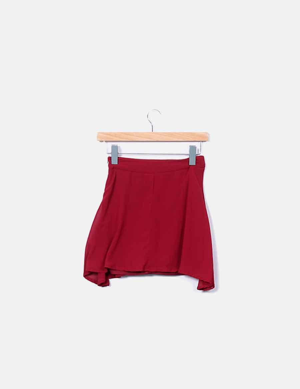 914115bfa 21 Faldas falda baratas Mini online granate Forever waPqffIt at ...