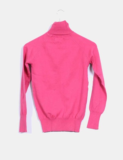 Top tricot basico rosa