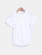 Blusa guipur blanca abullonada Fashion Pills