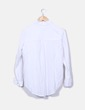 Chemise blanche à manches longues Springfield