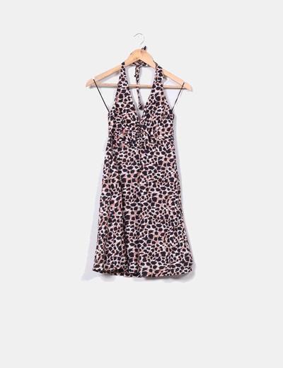 0fe31a9670 H M Vestido estampado animal print (descuento 95%) - Micolet