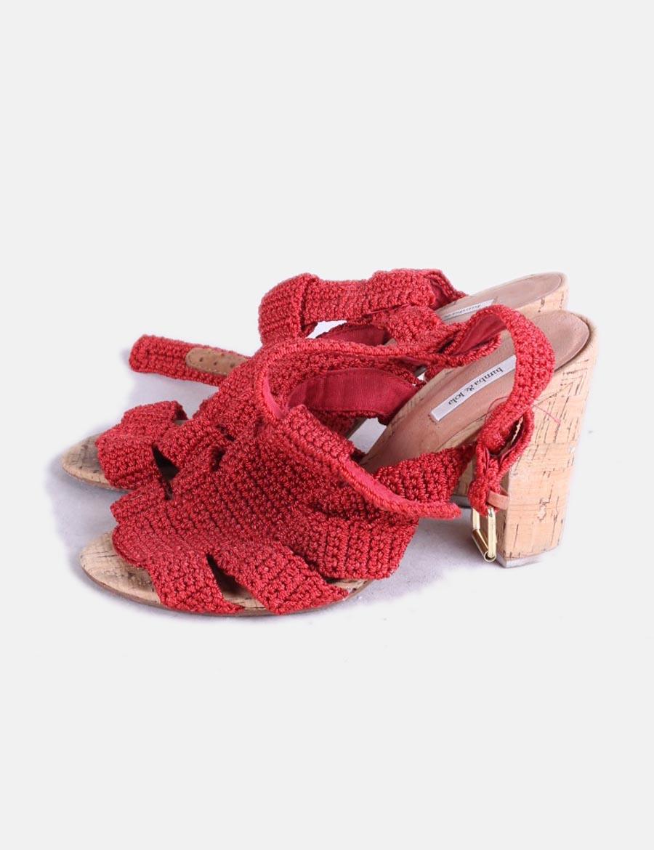 De Zapatos Mujer Crochet Rojo Ow8pfq Bimba Amp;lola At Sandalias 5wgctqy DIE9HW2Y