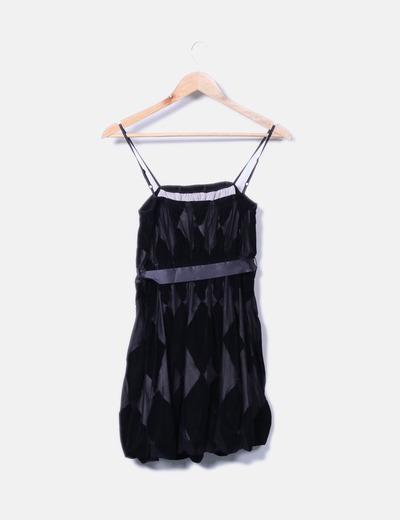 Vestido Negro Vestido Vestido Combinado Terciopelo Combinado Negro Terciopelo Negro Negro Combinado Vestido Combinado Terciopelo 53jLR4A